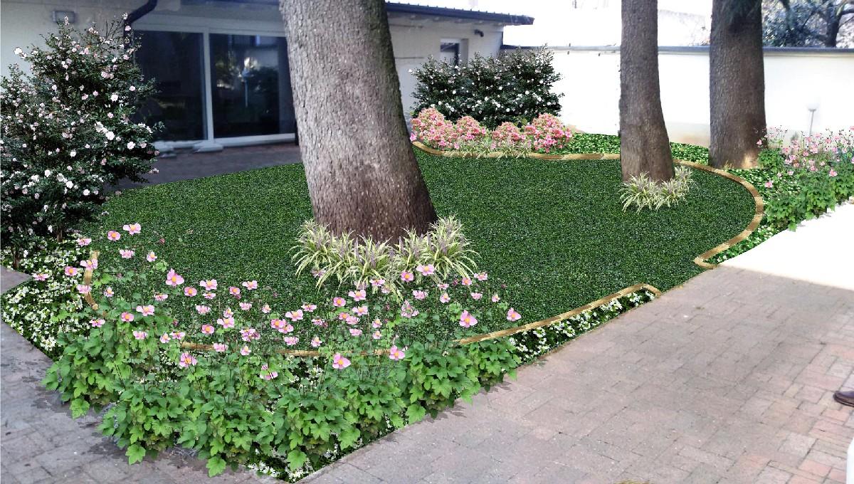 Progettazione giardini e terrazzi milano como varese for Progettare un terrazzo giardino