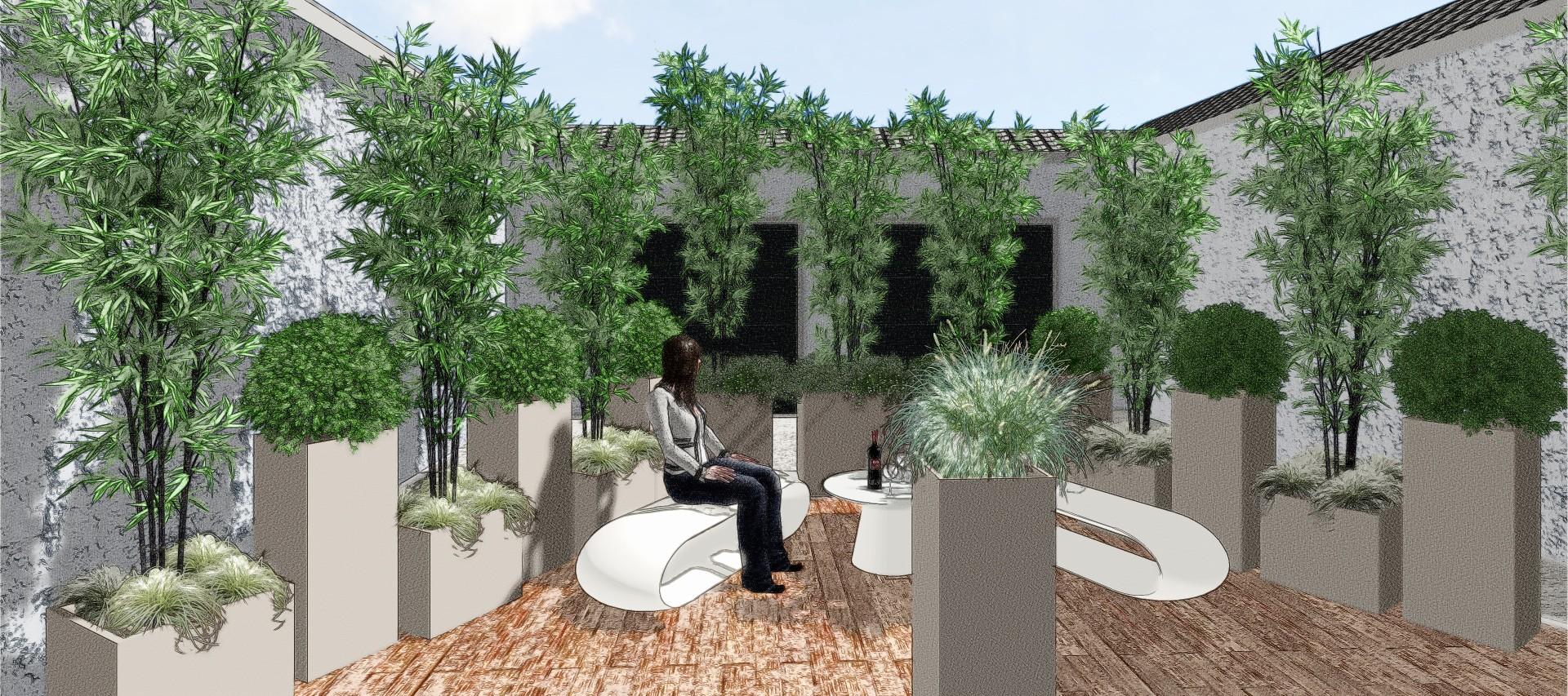 La migliore Progettazione Giardini E Terrazzi Idee e immagini di ispirazione  ezsrc.com Trova ...