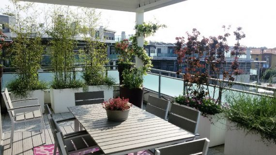 Progettazione e realizzazione giardini milano como e - Progettazione terrazzi milano ...