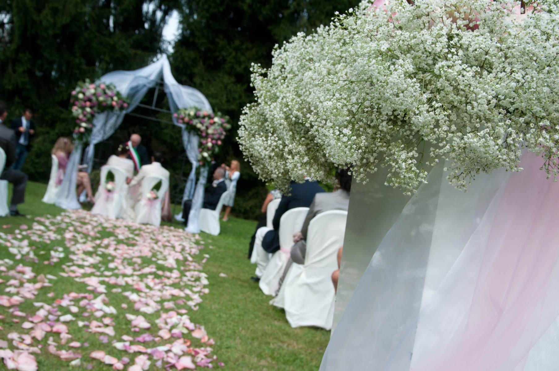 Addobbi Per Matrimonio In Giardino : Addobbi floreali per matrimoni ed eventi milano e varese