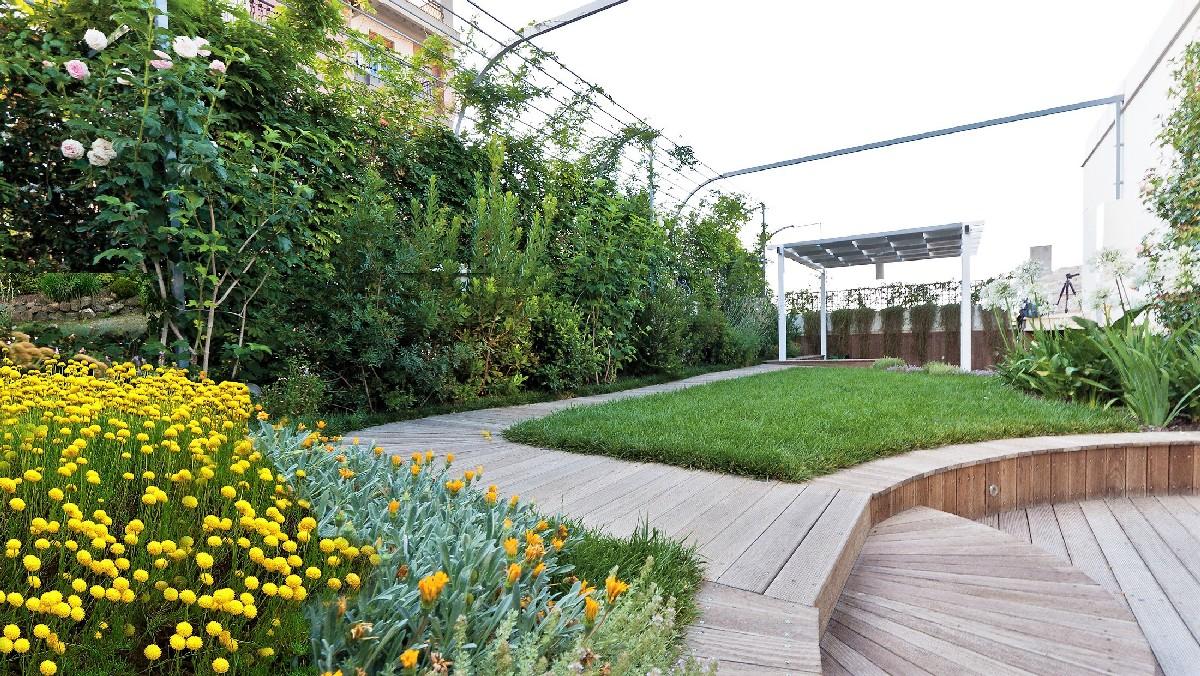 Realizzazione giardini pensili a Milano, Como e Varese  Ikebana Fiori e Giar...