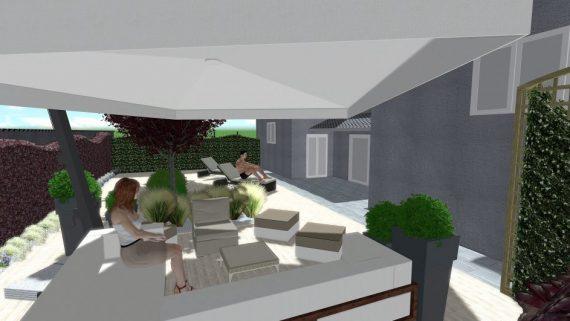Realizzazione giardini pensili a milano como e varese for Progettazione giardini pensili